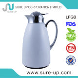 Painted Stainless Steel Body Glass Tea Pot Vacuum Flask 1L (JGCD)