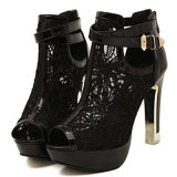Fashion Embellished Sparkles Party Pumps High Heel Stilettos Ankle Strapdress Shoes