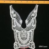 25*35cm Hot Sale High-Quality Cotton False Colored Collar Crochet Collar Design Custom Clothing Patches Lace Hm2035