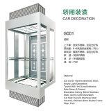 Famous Sightseeing Glass Observation Passenger Elevator