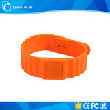 Fashion Design Programmable Silicone 125kHz RFID Wristband
