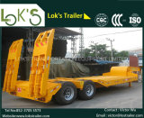 2axles Lowbed Semi Trailers