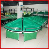 Price Competitive Supermarket Acry Vegetables Fruit Display Rack