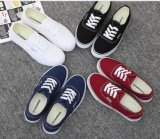 Classic Women's Injection Canvas Shoes Leisure Comfort Shoes (HH909)