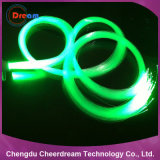 PMMA Material 0.75mm End Glow Fibre Optic for Lighting