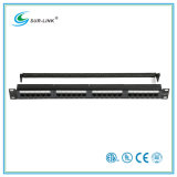CAT6 24 Port UTP Patch Panel with Back Bar