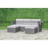 Patio Outdoor Garden Furniture Wicker Rattan Sofa