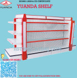 High Quality Supermarket Pharmacy Cosmetic Glass Shelving Shelf