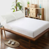 New Arrival Wholesale Comfortable Plain White Fitted Sheet (DPFP8050)