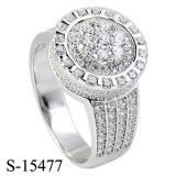 New Arrival 925 Silver Jewelry Diamond Ring