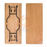 Wholesale Cheap Rectangular Foldable Wooden Banquet Tables