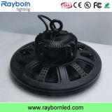 UFO Shape 100-240V 140lm/W Induction LED High Bay Lamp 150W
