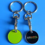 Metal Trolley Coin Keychain for Shopping (AS-TC-LU-049)