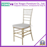 Transparent Gold PC Resin Tiffany Chair for Party