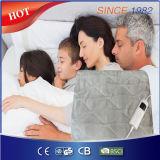 EU Market 220-240V Comfortable Soft Fleece Electric Over Blanket