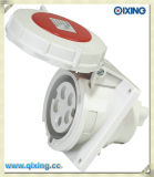 Cee/IEC 32A 5p 400V Power 3 Phase Flush Mounted Socket