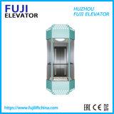 Small Machine Room Panoramic&Sightseeing Elevator Glass Door