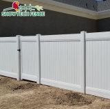 Garden Decoration Fence Cheap PVC Plastic Privacy Fence Panel