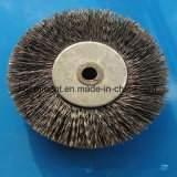 150mm Od Corrugated Wire Stainless Steel Industrial Wheel Brush