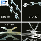 Razor Wire/Galvanized PVC Coated Concertina Razor Wire/Barbed Razor Wire Bto-22/Cbt-60 Cbt-65 Factory Sales Brand