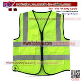 New Design Security Equipment Road Safety Clothing 100% Polyester Fabric Nigeria Safety Reflective Vest