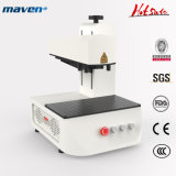 50W Portable Color Jewelry Fiber Laser Marking Machine CNC Engraving for Metal Cutting Plastic 3D Logo Gold Chain Number Plate Galvo YAG Subsurface Printing
