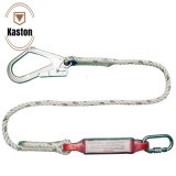 Kaston High Strength Polyester Safety Lanyard Rope with Energy Absorber