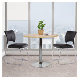Diameter 60cm-120cm Modern Wooden Office Furniture Small Cheap White Round Tea Coffee MDF Dining Table