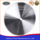 OD1600mm Laser Welded Saw Blade with Silver Brazed for Granite