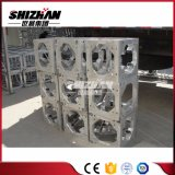 Shizhan Customized Square Aluminum Bolt/Screw Truss, Sleeve Block with Inside Wheel