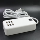 20W 6 Ports Desk Charger USB Ports Multi USB Charger