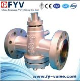 Lubricated Flanged Welded Plug Valve
