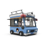 Jekeen Fast Food Truck Mobile Food Cart Trailer Hot Dog Vending Cart Ice Cream Push Cart of Billy