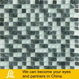 Crystal Glass Mosaic Mix with Stone (Ash Stone 03)