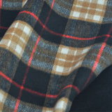 Checked, Fleece Fabric for Jacket, Garment Fabric, Textile Fabric, Clothing