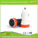 Mini Dual USB Car Charger for Mobile Phone