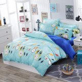 Home Textile Printed Microfiber Blanket Cover Set