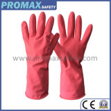 Pink Reusable Natural Rubber Kitch Gloves