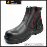 Women Industrial Leather Safety Shoes with Steel Toecap (Sn1530)