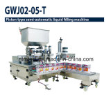 Piston Type Double Nozzle Liquid Filling Machine