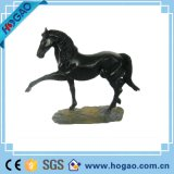 Art Deco Sculpture Horse Stand Pose Resin Statue