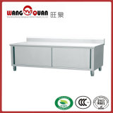 Stainless Steel Restaurant Detachable Worktable Cabinet