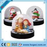 Polyresin Snow Globe with Acrylic Ball
