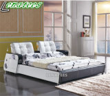 A088 New Model Musical Bed Bedroom Furniture with LED Light