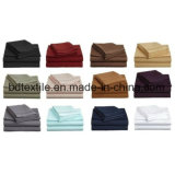 Solid Microfiber 1500 Collection Bed Sheet Fabric