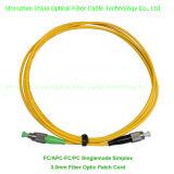 FC/APC-FC/PC Simplex Duplex Fiber Optic Patch Cable Singlemode Multimode