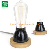 Indoor Table Lamp LED Bedside Light with Electrical Plug