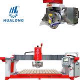 Hualong Stone Machinery Hsnc-450 High Efficiency Automatic Marble Slab Cutting Machine CNC Granite Tile Bridge Saw for Sale