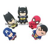 Cheap Design Custom 3D Anime Cartoon Logo Soft PVC Rubber Fridge Magnets for Home Decor and Toys
