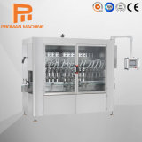 PLC Servo Piston Liquid Bottle Oil Detergent Shampoo Disinfectant Bleaching Soap Cleaner Corrosive Bottling Filling Machine